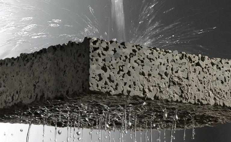 Uso y mantenimiento de concreto permeable