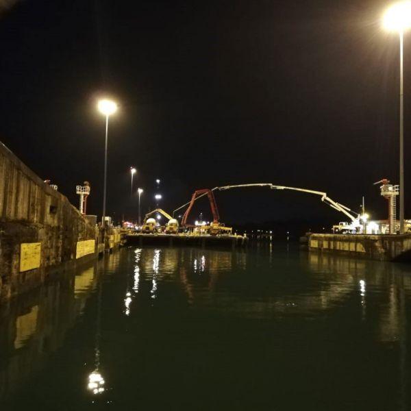 Reparación de Esclusas de Aguas Claras